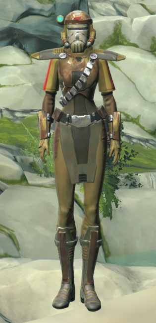 Mantellian Separatist Armor Set Outfit from Star Wars: The Old Republic.