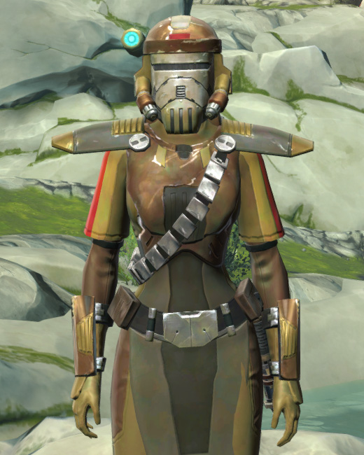 Mantellian Separatist Armor Set Preview from Star Wars: The Old Republic.