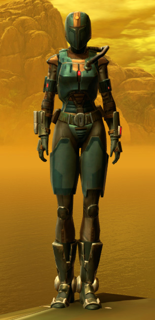 Mercenary Elite Armor Set Outfit from Star Wars: The Old Republic.