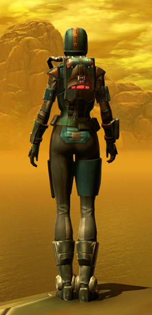 Mercenary Elite Armor Set player-view from Star Wars: The Old Republic.