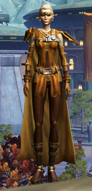 Nanosilk Aegis Armor Set Outfit from Star Wars: The Old Republic.