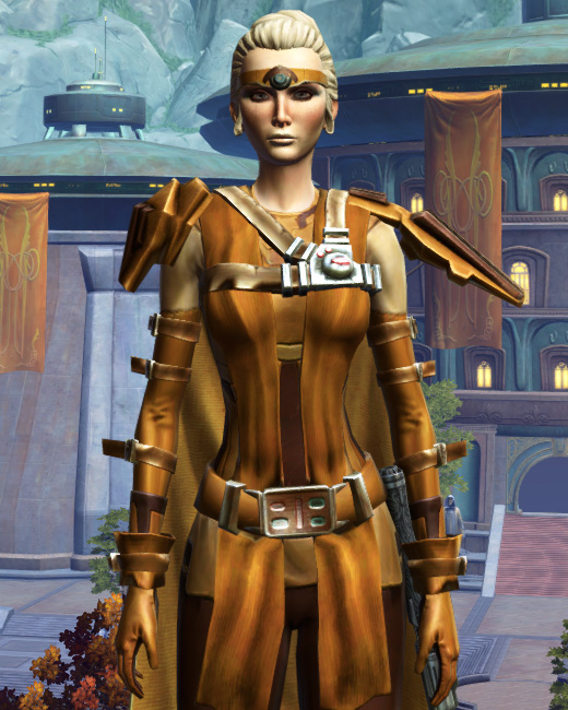 Nanosilk Aegis Armor Set Preview from Star Wars: The Old Republic.