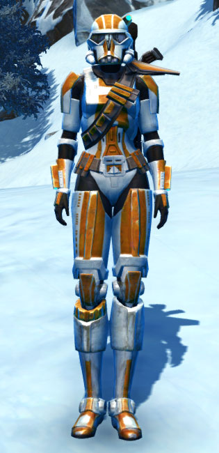 TD-17A Colossus Armor Set Outfit from Star Wars: The Old Republic.