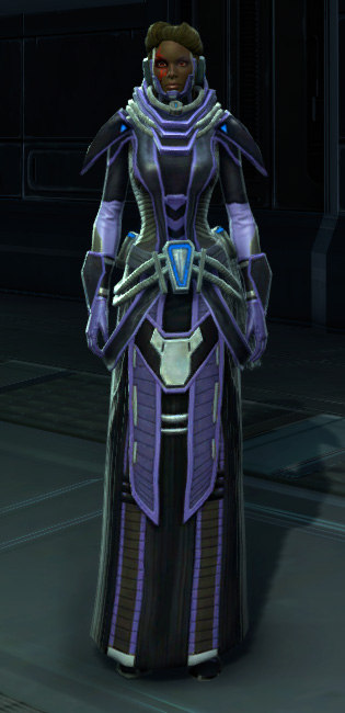 Overloaded Interrogator Armor Set Outfit from Star Wars: The Old Republic.