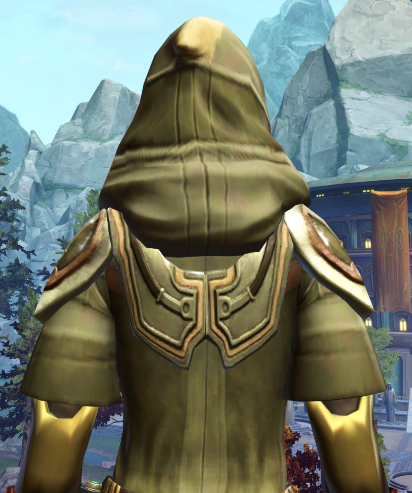 Peacekeeper Elite Armor Set detailed back view from Star Wars: The Old Republic.