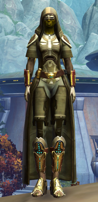 Peacekeeper Elite Armor Set Outfit from Star Wars: The Old Republic.