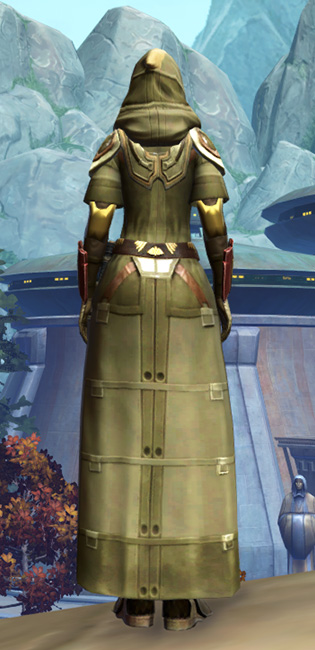 Peacekeeper Elite Armor Set player-view from Star Wars: The Old Republic.