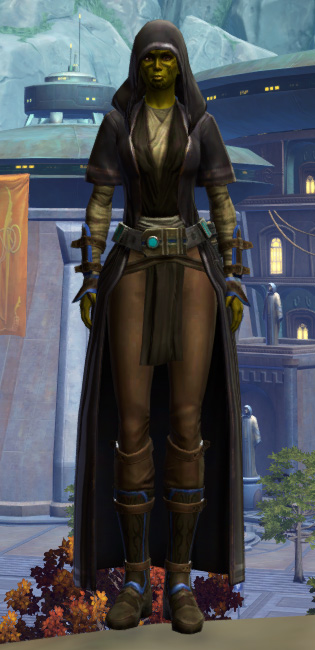 Peacekeeper Armor Set Outfit from Star Wars: The Old Republic.