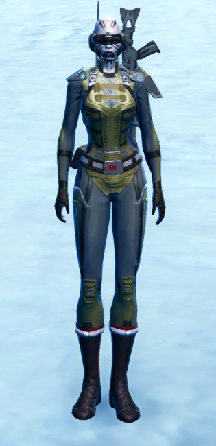 Plasteel Battle Armor Set Outfit from Star Wars: The Old Republic.