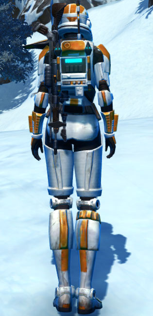 TD-17A Colossus Armor Set player-view from Star Wars: The Old Republic.