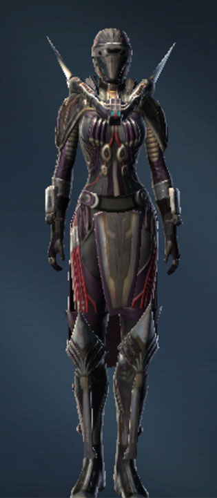 Battlemaster War Leader Armor Set Outfit from Star Wars: The Old Republic.