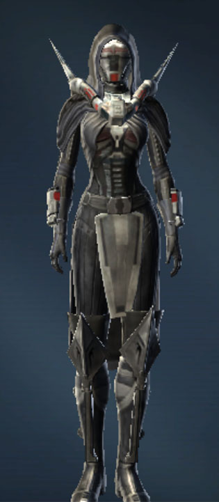 Battlemaster Weaponmaster Armor Set Outfit from Star Wars: The Old Republic.
