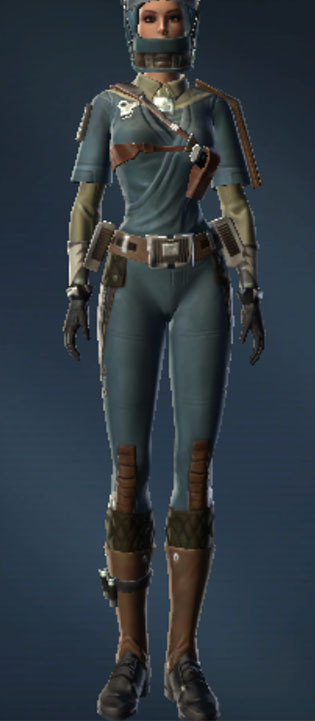 Civilian Pilot Armor Set Outfit from Star Wars: The Old Republic.