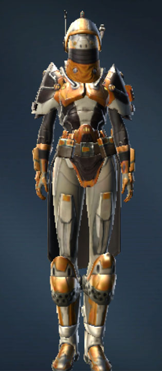 Republic Containment Officer Armor Set Outfit from Star Wars: The Old Republic.