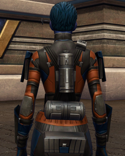 Probe Tech Armor Set Back from Star Wars: The Old Republic.