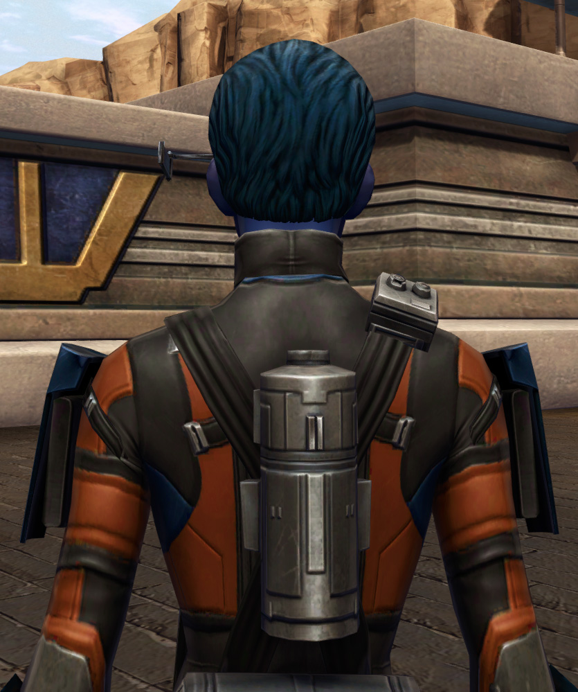 Probe Tech Armor Set detailed back view from Star Wars: The Old Republic.