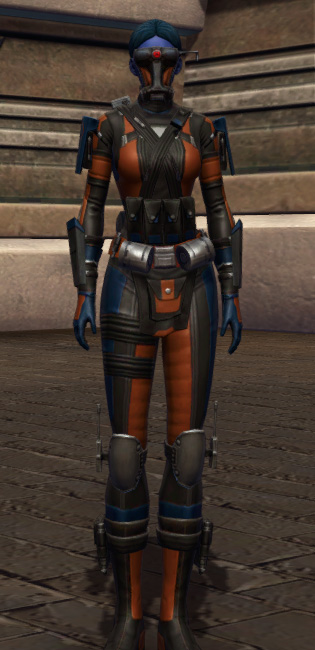 Probe Tech Armor Set Outfit from Star Wars: The Old Republic.