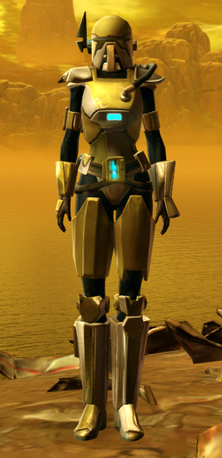 Quadranium Asylum Armor Set Outfit from Star Wars: The Old Republic.