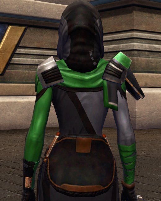 Quick Thinker Armor Set Back from Star Wars: The Old Republic.