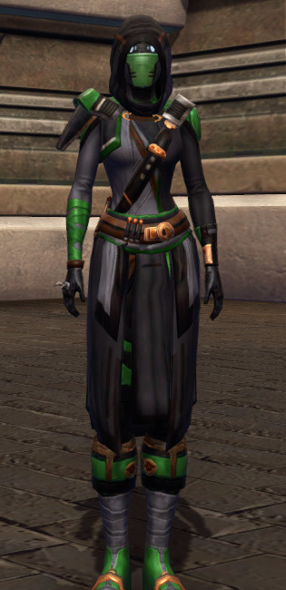 Quick Thinker Armor Set Outfit from Star Wars: The Old Republic.