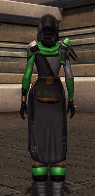 Quick Thinker Armor Set player-view from Star Wars: The Old Republic.
