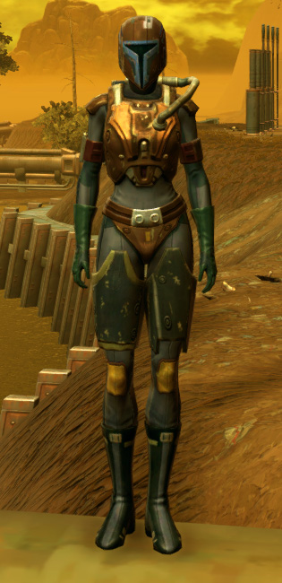 RD-17A Hellfire Armor Set Outfit from Star Wars: The Old Republic.