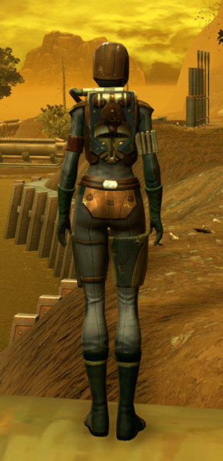 RD-17A Hellfire Armor Set player-view from Star Wars: The Old Republic.