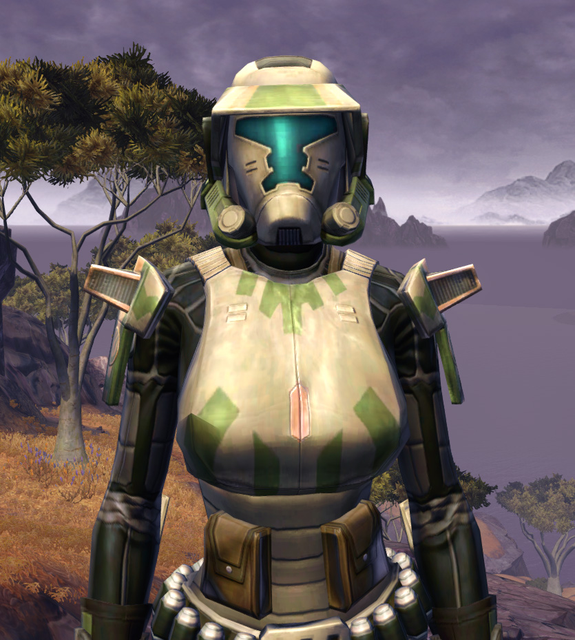 Electrum Onslaught Armor Set from Star Wars: The Old Republic.