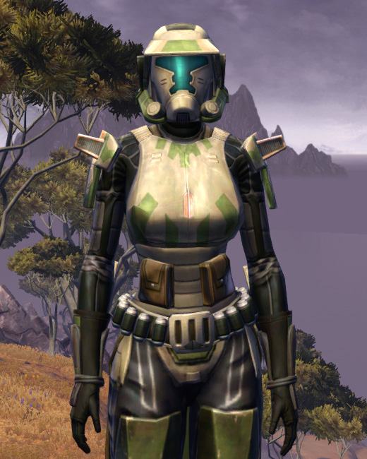 Electrum Onslaught Armor Set Preview from Star Wars: The Old Republic.