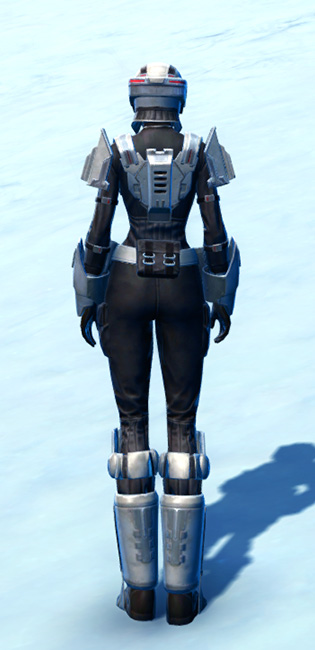 Recon Trooper Armor Set player-view from Star Wars: The Old Republic.