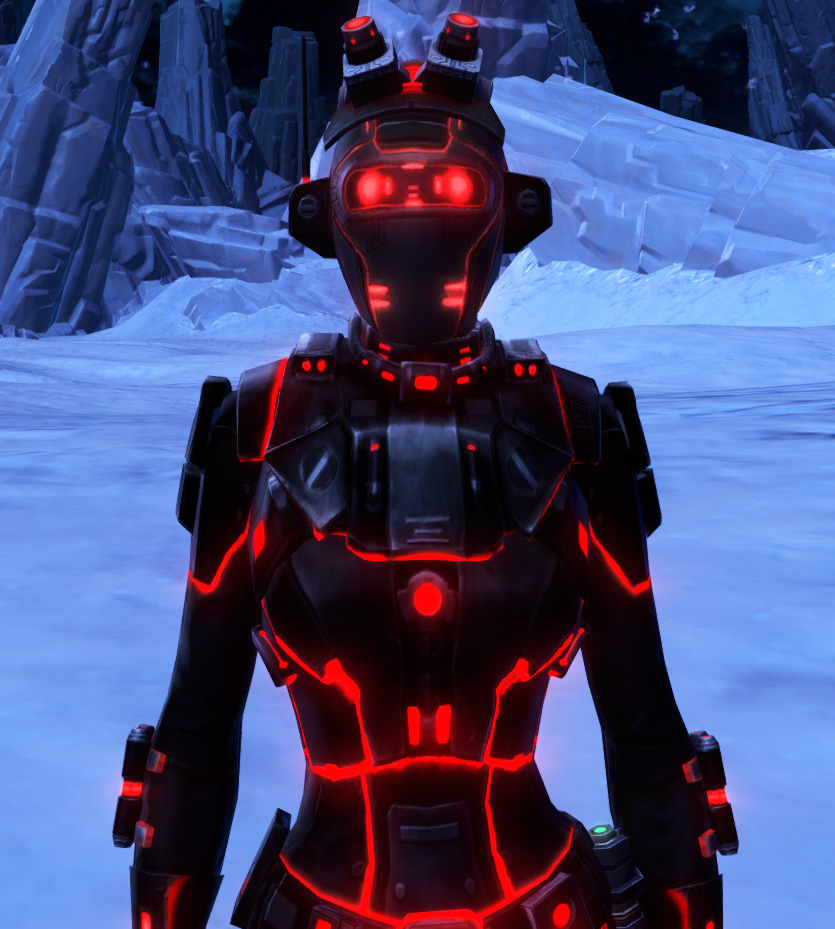 Red Scalene Armor Set from Star Wars: The Old Republic.