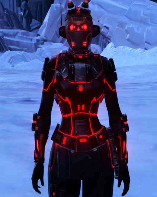 Red Scalene Armor Set Preview from Star Wars: The Old Republic.