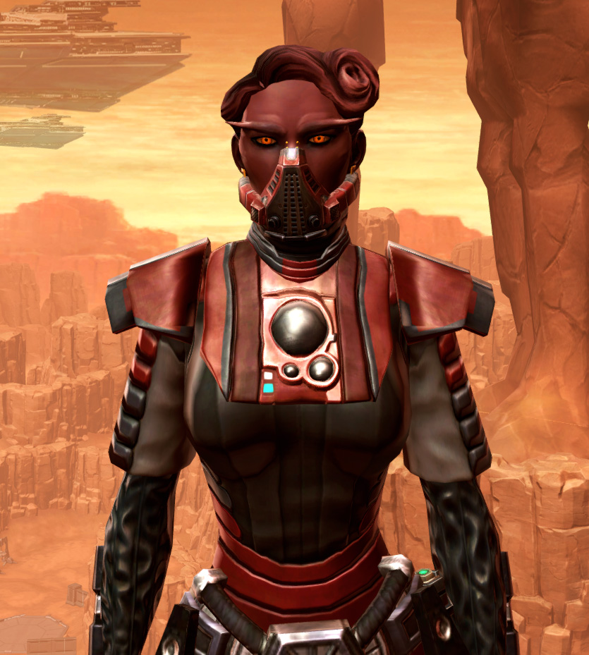 Reinforced Chanlon Armor Set from Star Wars: The Old Republic.