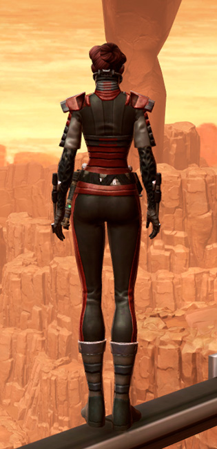 Reinforced Chanlon Armor Set player-view from Star Wars: The Old Republic.