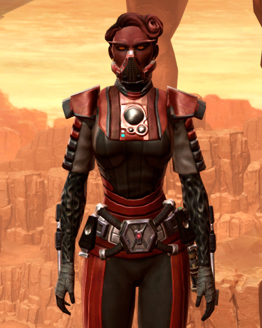 Reinforced Chanlon Armor Set Preview from Star Wars: The Old Republic.