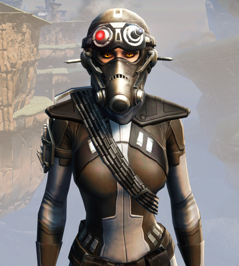 Remnant Arkanian Agent Armor Set from Star Wars: The Old Republic.