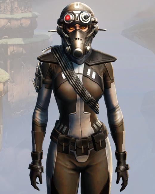 Remnant Arkanian Agent Armor Set Preview from Star Wars: The Old Republic.