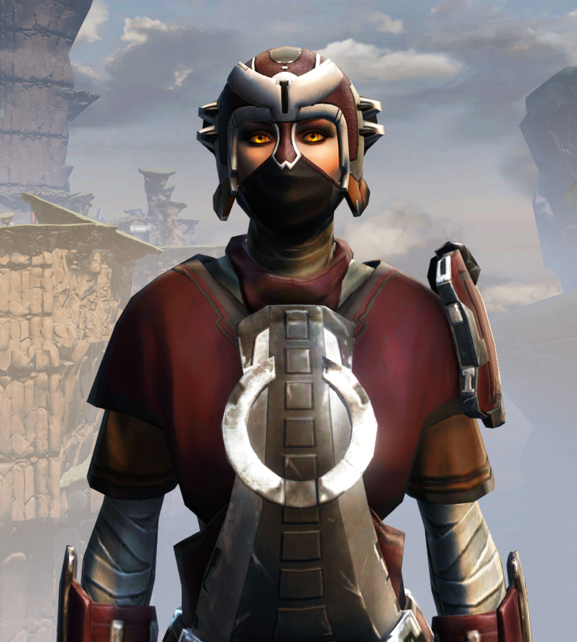 Remnant Arkanian Consular Armor Set from Star Wars: The Old Republic.