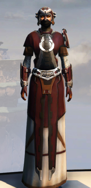 Remnant Arkanian Consular Armor Set Outfit from Star Wars: The Old Republic.