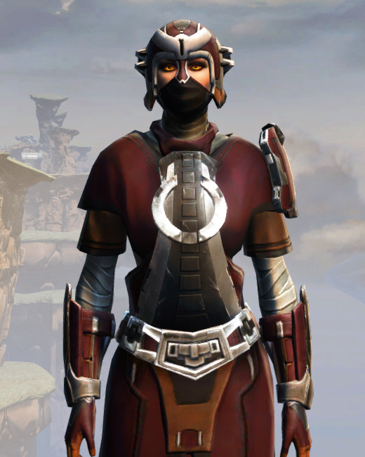 Remnant Arkanian Consular Armor Set Preview from Star Wars: The Old Republic.