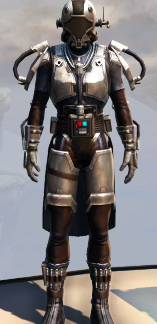Remnant Dreadguard Bounty Hunter Armor Set Outfit from Star Wars: The Old Republic.