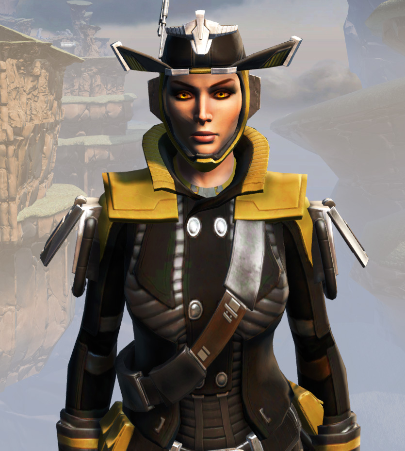 Remnant Dreadguard Smuggler Armor Set from Star Wars: The Old Republic.