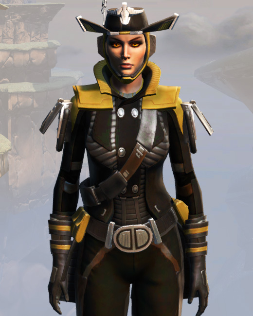 Remnant Dreadguard Smuggler Armor Set Preview from Star Wars: The Old Republic.