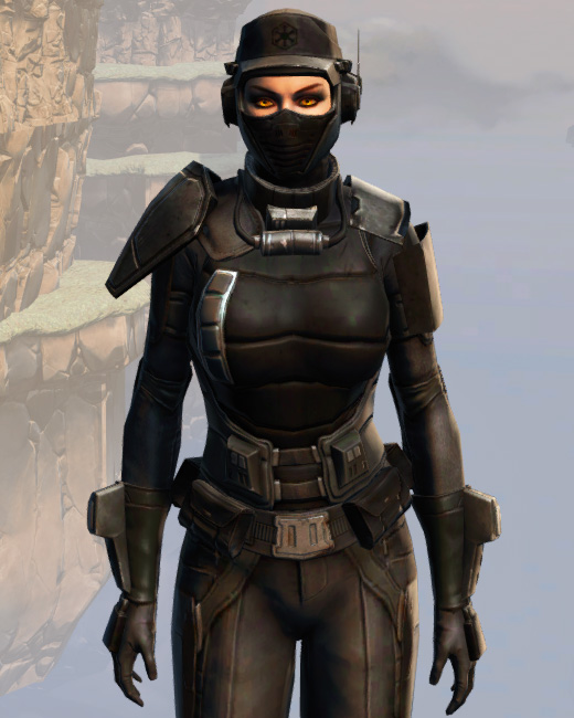 Remnant Resurrected Agent Armor Set Preview from Star Wars: The Old Republic.