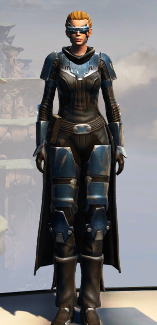 Remnant Resurrected Knight Armor Set Outfit from Star Wars: The Old Republic.