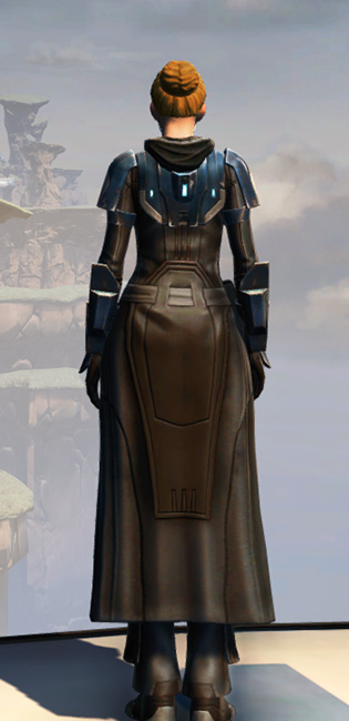 Remnant Resurrected Knight Armor Set player-view from Star Wars: The Old Republic.