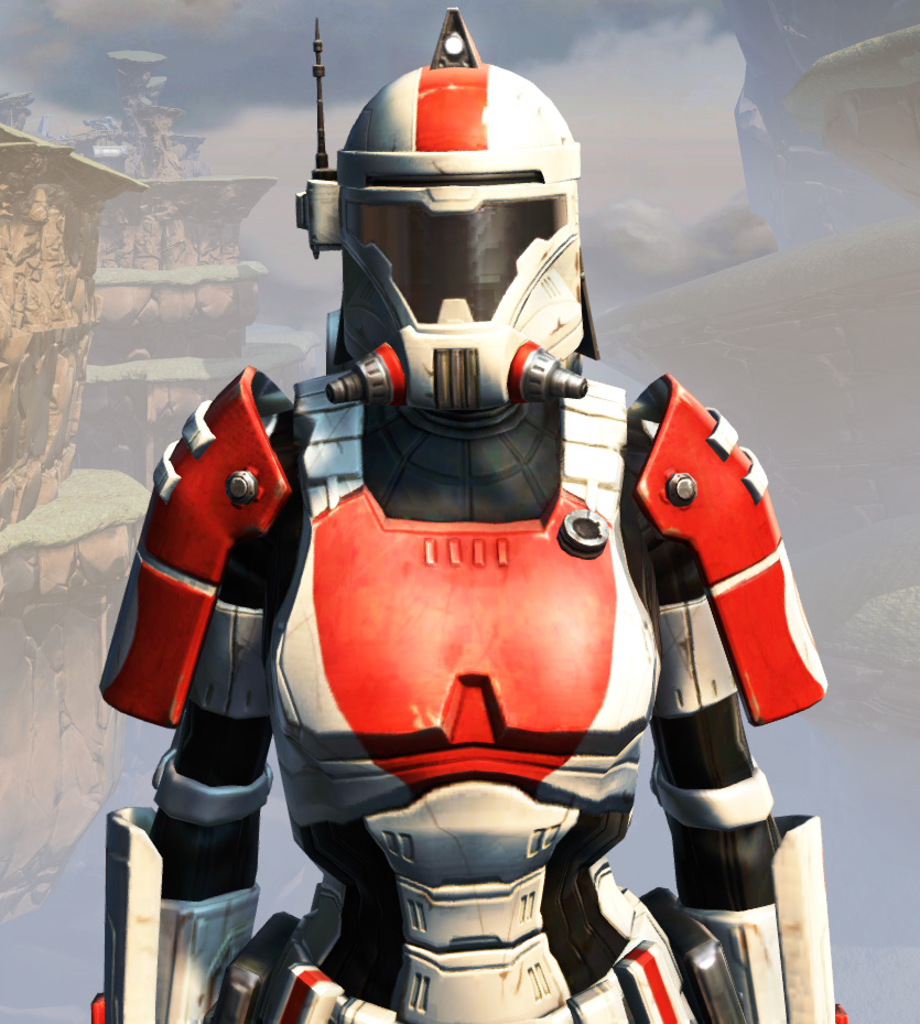 Remnant Resurrected Trooper Armor Set from Star Wars: The Old Republic.