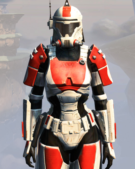 Remnant Resurrected Trooper Armor Set Preview from Star Wars: The Old Republic.