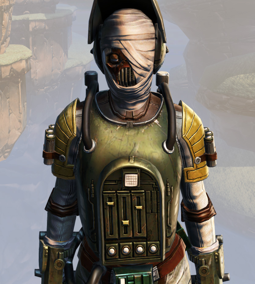 Remnant Underworld Bounty Hunter Armor Set from Star Wars: The Old Republic.