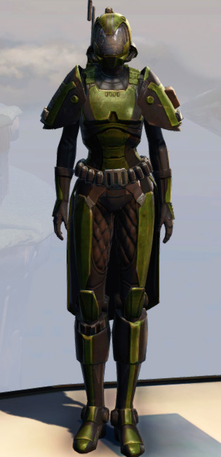 Remnant Yavin Trooper Armor Set Outfit from Star Wars: The Old Republic.